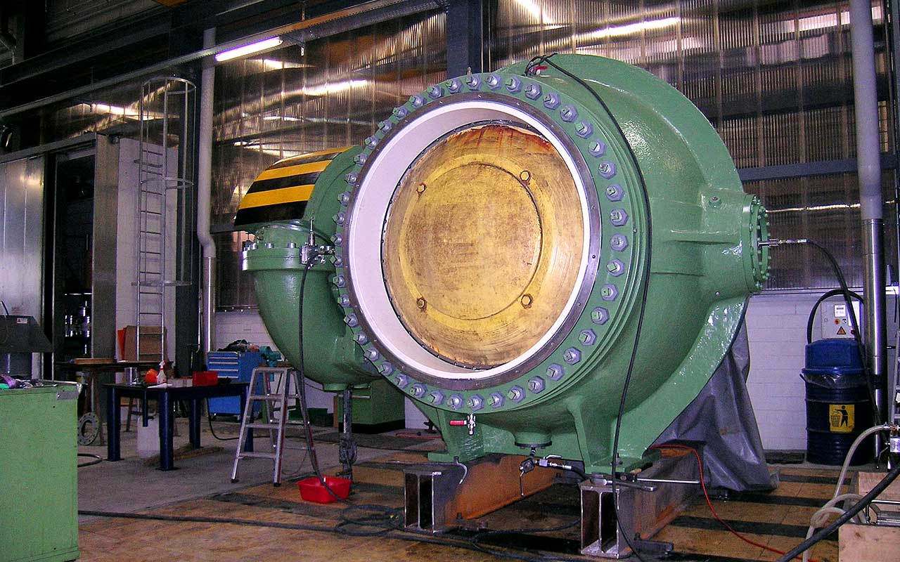 Spherical valve inspection